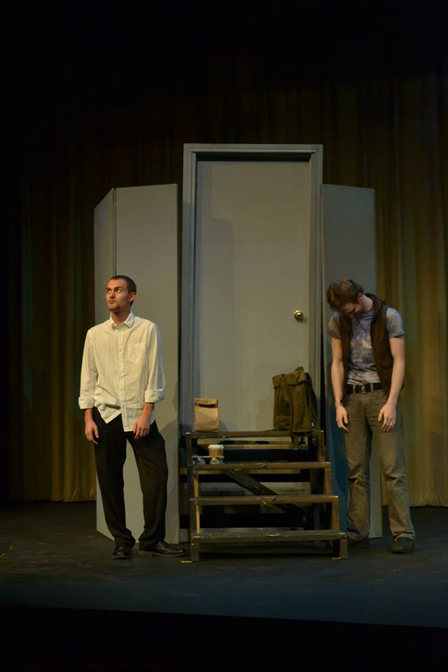 Reed Cook as Daniel and Ryan Stoll as Eli.