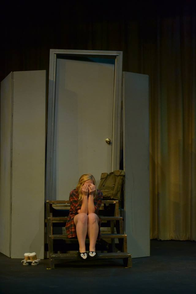 Noelle Low as Heather. Photo Credit; Elizabeth Oltman